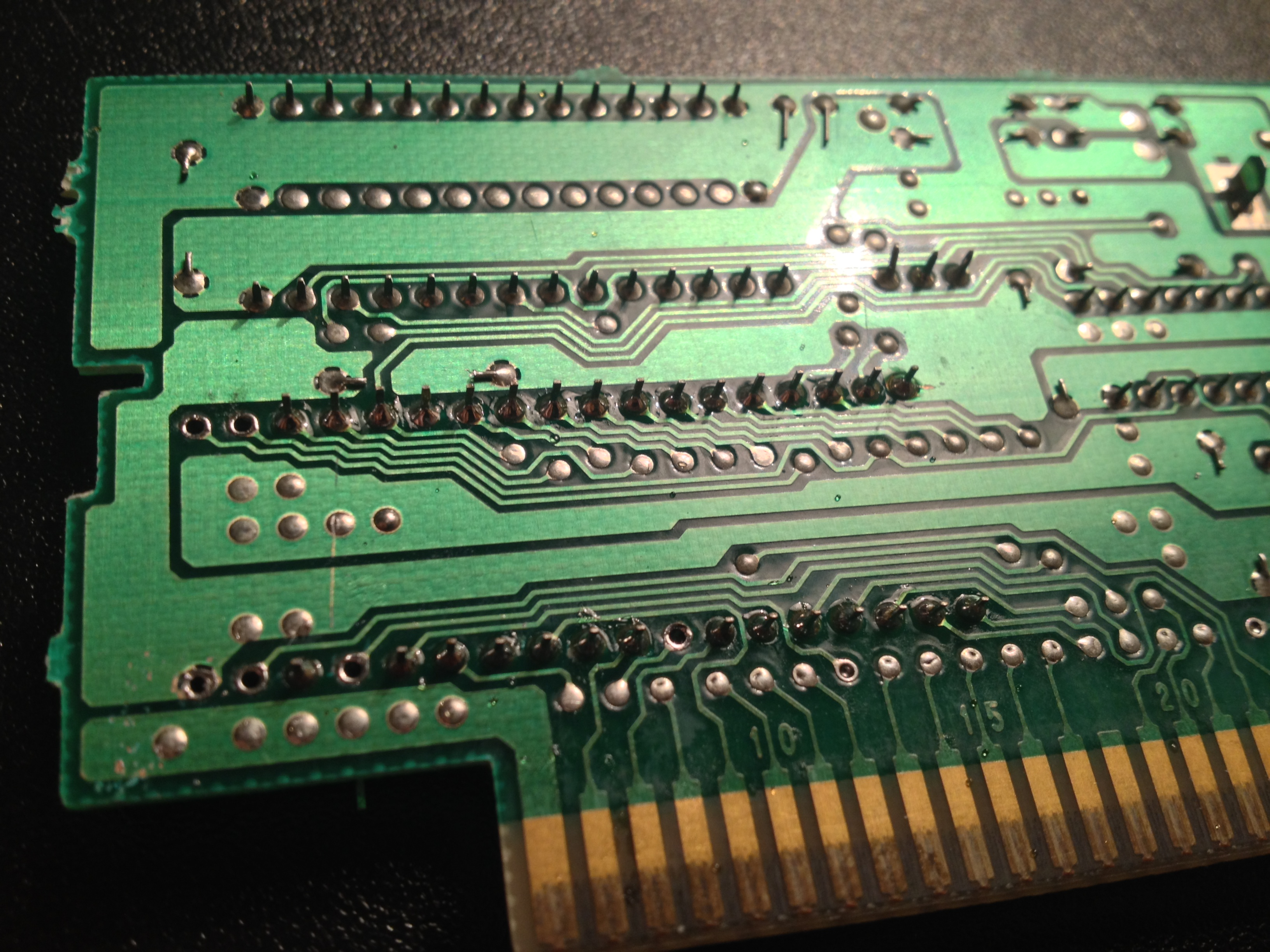 Snes Reproduction Cart Tutorial Jaska Gaming Eprom Burner Card Circuit Diagram Dont Solder The Pin 24s Together Go Off To Hct139 Individually